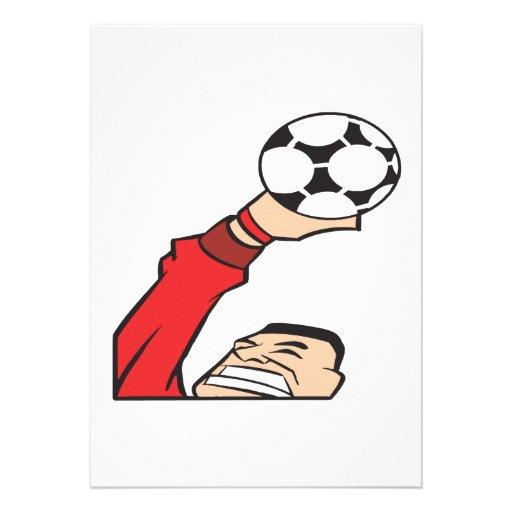 Portero del fútbol comunicados personales