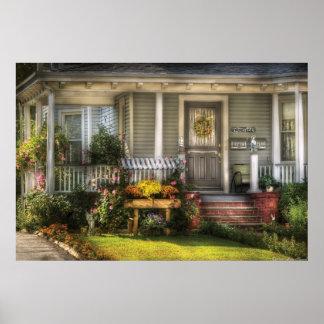 Pórtico - la casa de un ángel póster