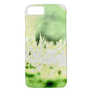 Portilla del color de la hierba verde funda iPhone 7