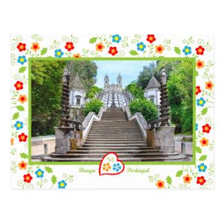 Portugal en fotos - Bom Jesús, Braga Postal
