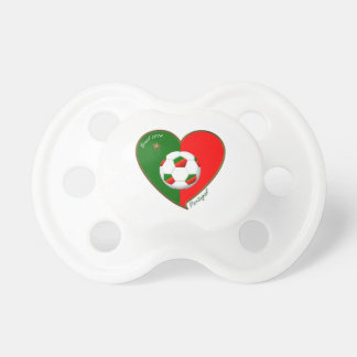 """PORTUGAL"" Soccer Team. Fútbol portugués 2014 Chupete"