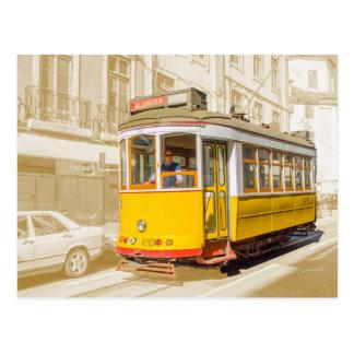 Portugal - tranvía clásico de Lisboa Postal