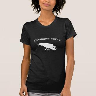 Portugués - atletismo del cuervo camisetas