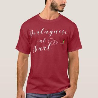 Portugués en la camiseta del corazón, Portugal