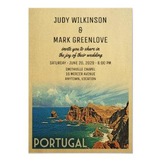 Portugués Madeira de la invitación del boda de