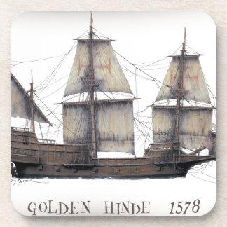 Posavasos 1578 Hinde de oro