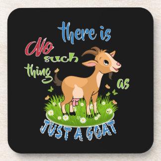 Posavasos Amante de la CABRA el | apenas una cabra