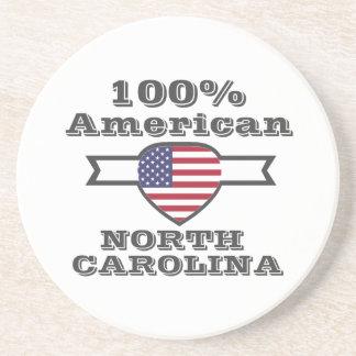Posavasos Americano del 100%, Carolina del Norte