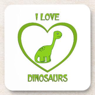 Posavasos Amo dinosaurios