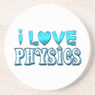 Posavasos Amo la física