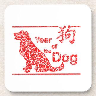 Posavasos Año del perro - Año Nuevo chino