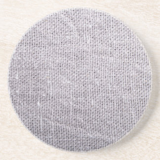 Posavasos Arpillera gris del fondo de la tela