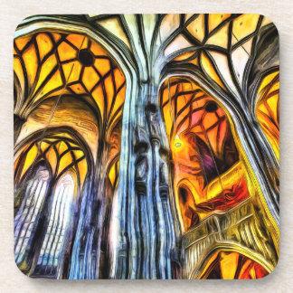 Posavasos Arte de Viena de la catedral del St Stephens