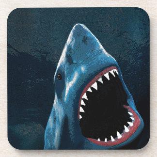 Posavasos Ataque del tiburón