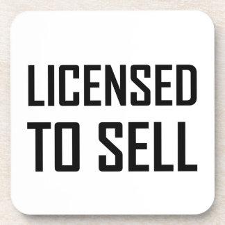 Posavasos Autorizado para vender