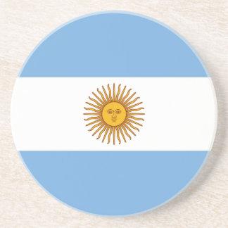 Posavasos Bandera argentina patriótica