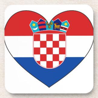 Posavasos Bandera de Croacia simple