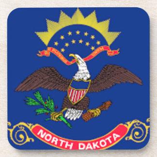 Posavasos Bandera de Dakota del Norte