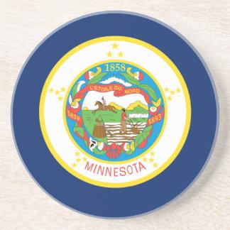 Posavasos Bandera de Minnesota