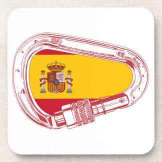 Posavasos Bandera del mosquetón de España