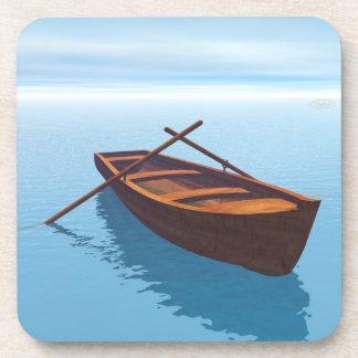 Posavasos Barco de madera - 3D rinden
