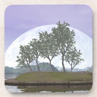 Posavasos Bonsais del pino - 3D rinden