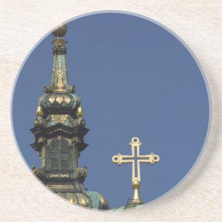 Posavasos Bóvedas ortodoxas de la iglesia cristiana