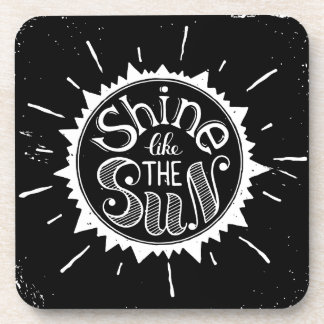 Posavasos Brillo como The Sun