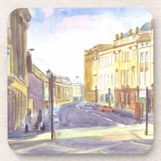 Posavasos Calle gris, prácticos de costa de Newcastle