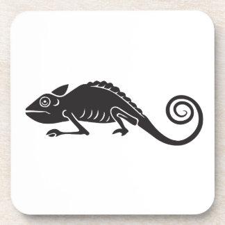 Posavasos camaleón simple
