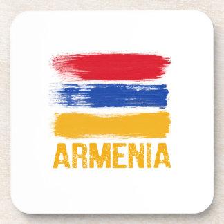Posavasos Camisetas de la bandera de Armenia