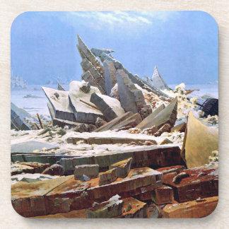 Posavasos CASPAR DAVID FRIEDRICH - el mar del hielo 1824