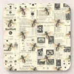 Posavasos Catálogo de abejas y cosechas