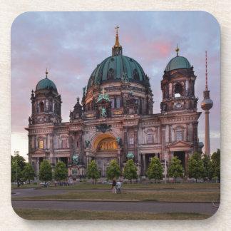 Posavasos Catedral de Berlín con la torre y Lustgar de la