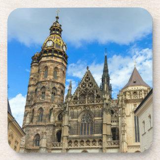 Posavasos Catedral del St. Elisabeth en Kosice, Eslovaquia
