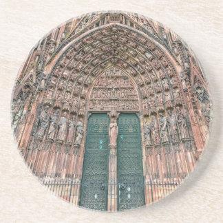 Posavasos Cathedrale Notre-Dame, Estrasburgo, Francia