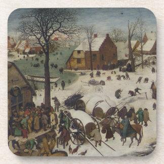 Posavasos Censo en Belén de Pieter Bruegel