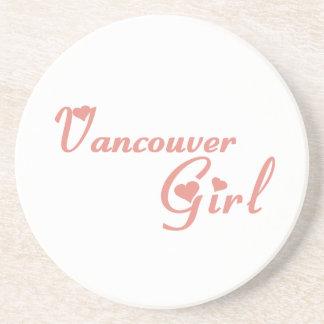 Posavasos Chica de Vancouver