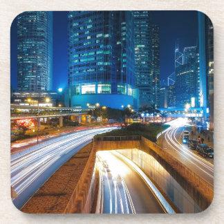 Posavasos Ciudad de Hong Kong