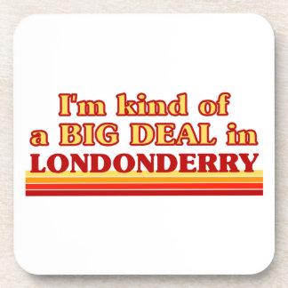 Posavasos Clase de I´m de una gran cosa en Londonderry