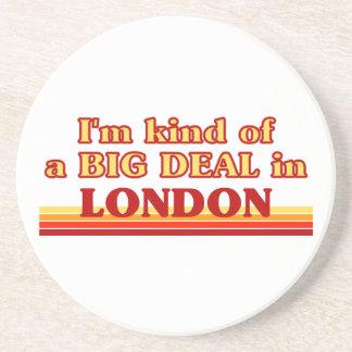 Posavasos Clase de I´m de una gran cosa en Londres