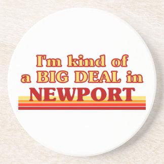 Posavasos Clase de I´m de una gran cosa en Newport