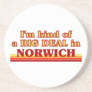Posavasos Clase de I´m de una gran cosa en Norwich