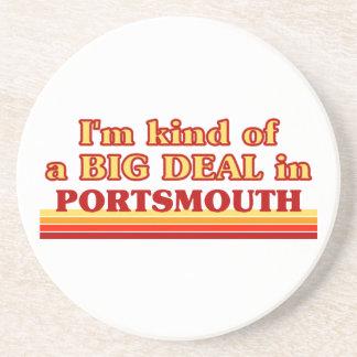 Posavasos Clase de I´m de una gran cosa en Portsmouth