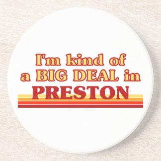 Posavasos Clase de I´m de una gran cosa en Preston