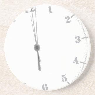 Posavasos Clockface de medianoche