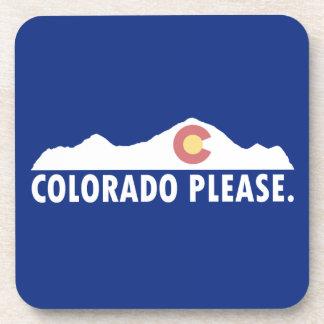 Posavasos Colorado por favor