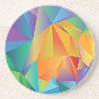 Posavasos cristal coloreado