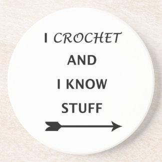 Posavasos Crochet y sé la materia