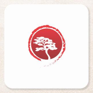 Posavasos Cuadrado De Papel Cultura japonesa de la tradición de Japón del